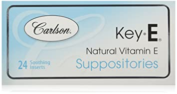 Amazon com: Carlson Labs Key-E Suppositories with Natural
