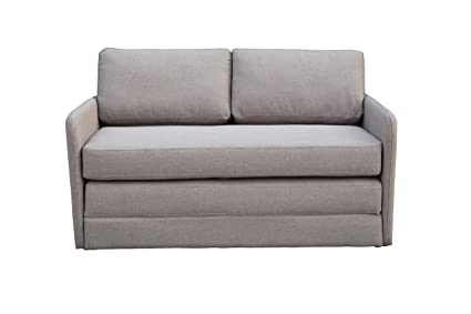 Amazon.com: New Spec Phillip Convertible Sofabed, Taupe: Kitchen ...