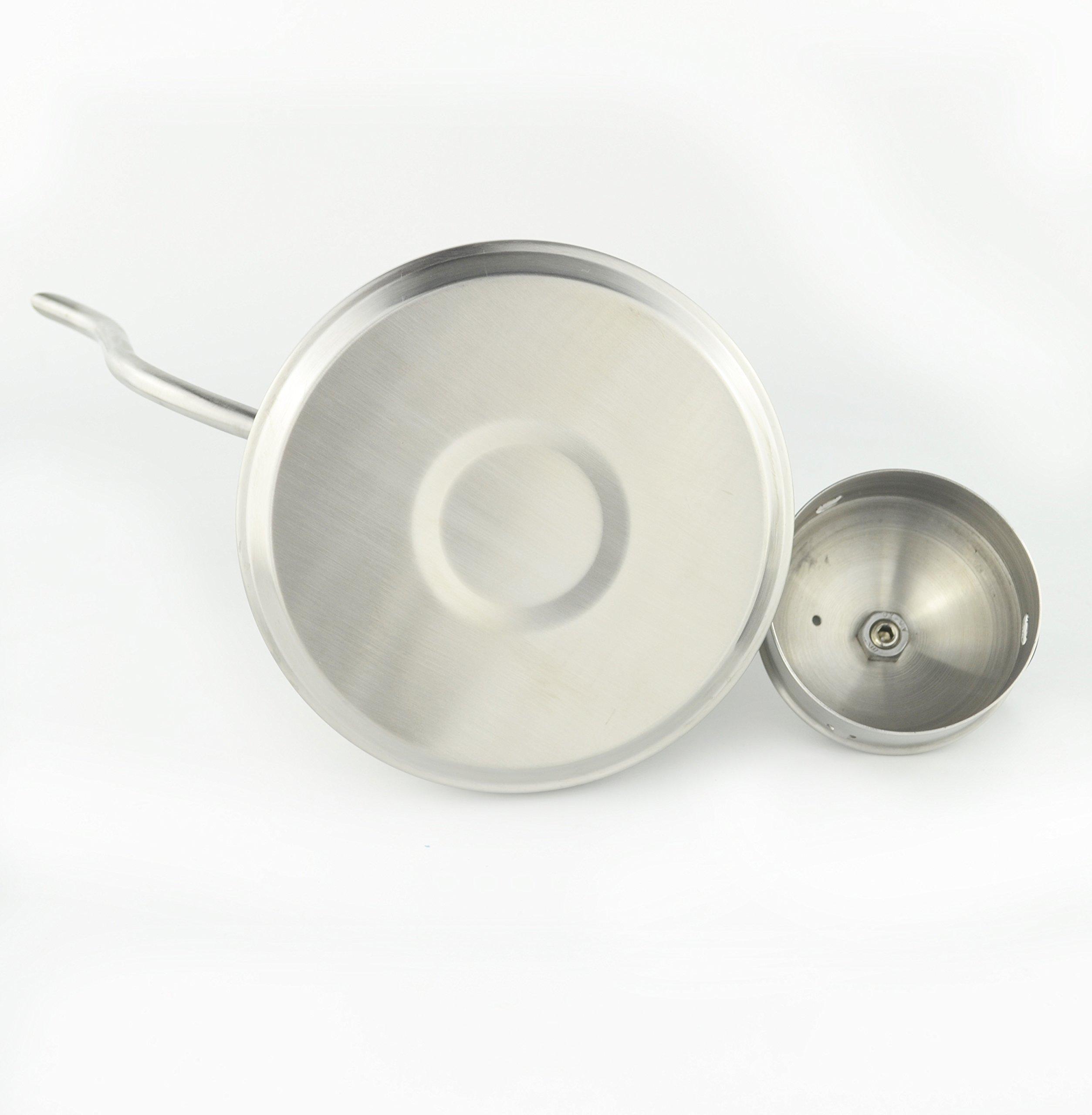 SAMYO Coffee & Tea Drip Kettle - Stainless Steel Precision Gooseneck Spout With Ergonomic Handle