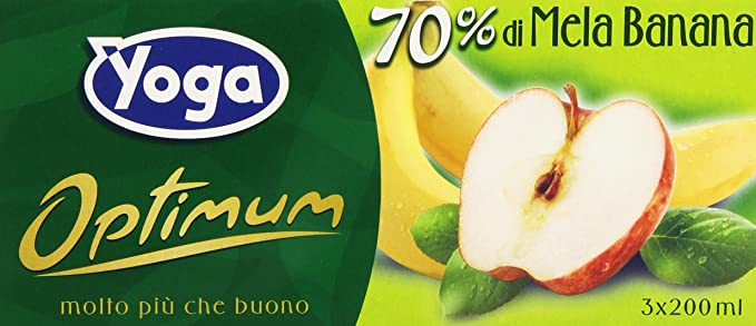 11 opinioni per Yoga Succo Optimum Mela Banana Ml.200X3