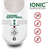 5-in-1 Home Sentinel - Aspectek - Indoor Pest Control Insect and Rodent Repeller - Ultrasonic, Electromagnetic Repeller with Ionizer and Automatic Night Light