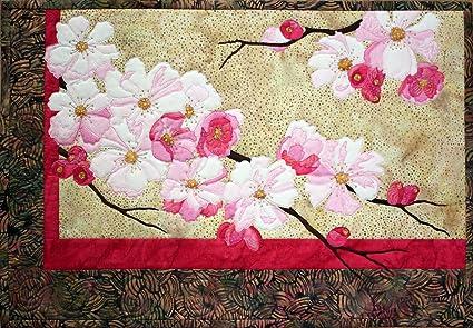 Amazon cherry blossoms flower toni whitney fusible applique
