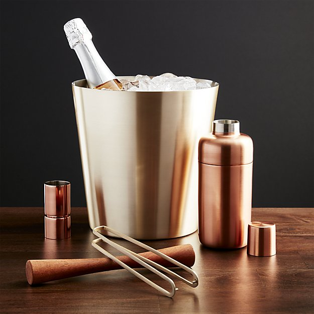 Orb Wine-Champagne Bucket | Crate and Barrel