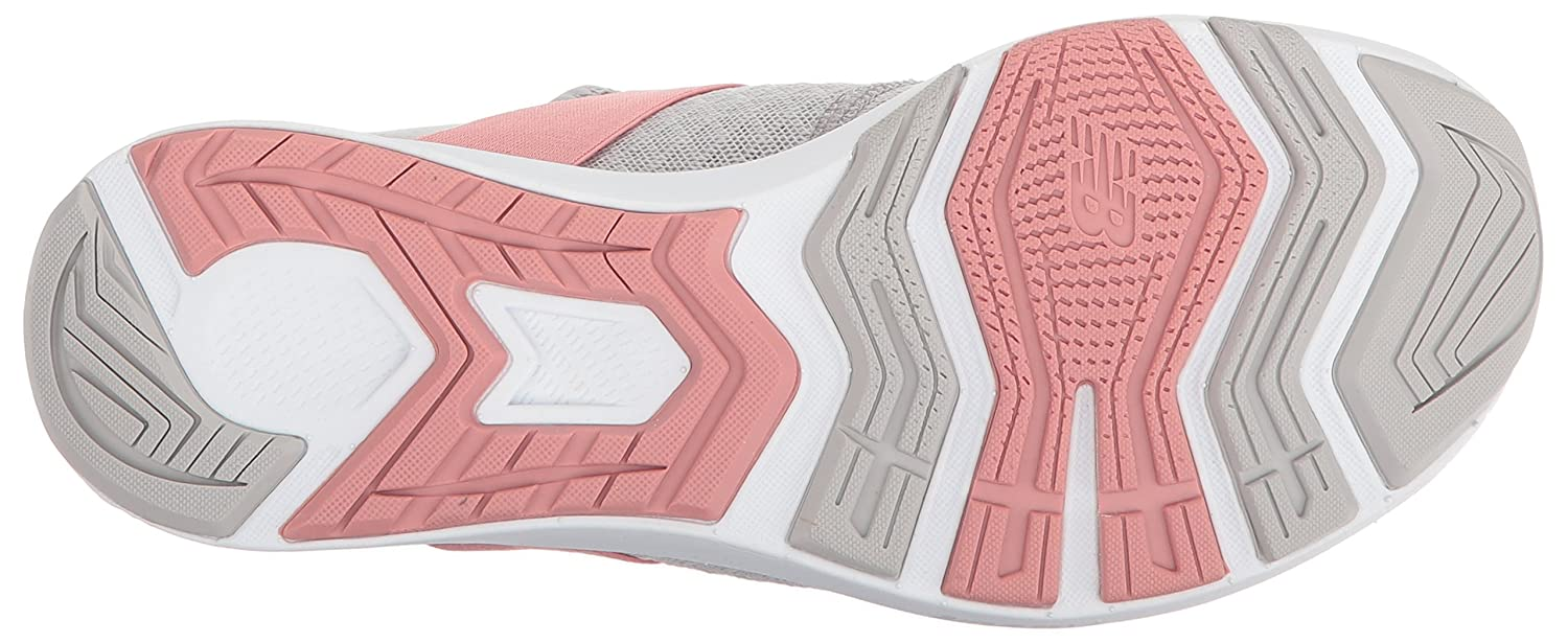 New Balance Women's FuelCore Nergize V1 Fuel Core Cross Trainer B0751DM2QG 8 D US|Silver Mink/Dusted Peach