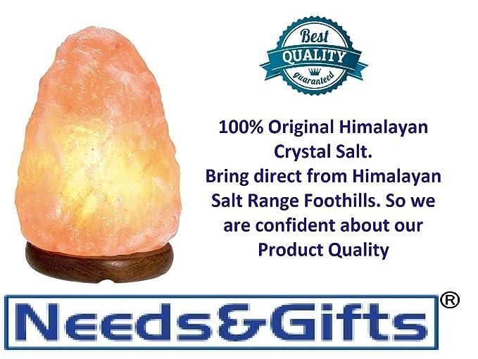 HIMALAYAN PINK SALT ROCK CRYSTAL LAMP NATURAL HEALING IONIZING LAMPS UK QUALITY