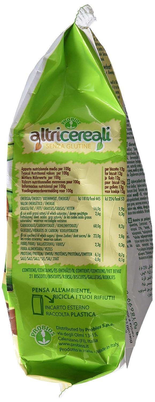 Probios AltriCereali Galleta de Alforfón con Zanahoria y Almendra - Paquete de 10 x 250 gr - Total: 2500 gr: Amazon.es: Alimentación y bebidas
