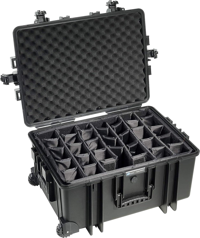 B W Outdoor Case Hartschalenkoffer Typ 6800 Mit Kamera