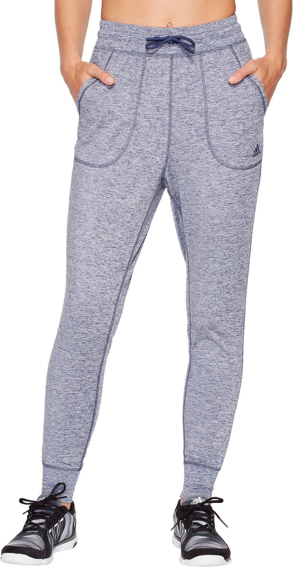 adidas Women's Sport ID Top Jogger Pants Noble Indigo Melange XX-Large