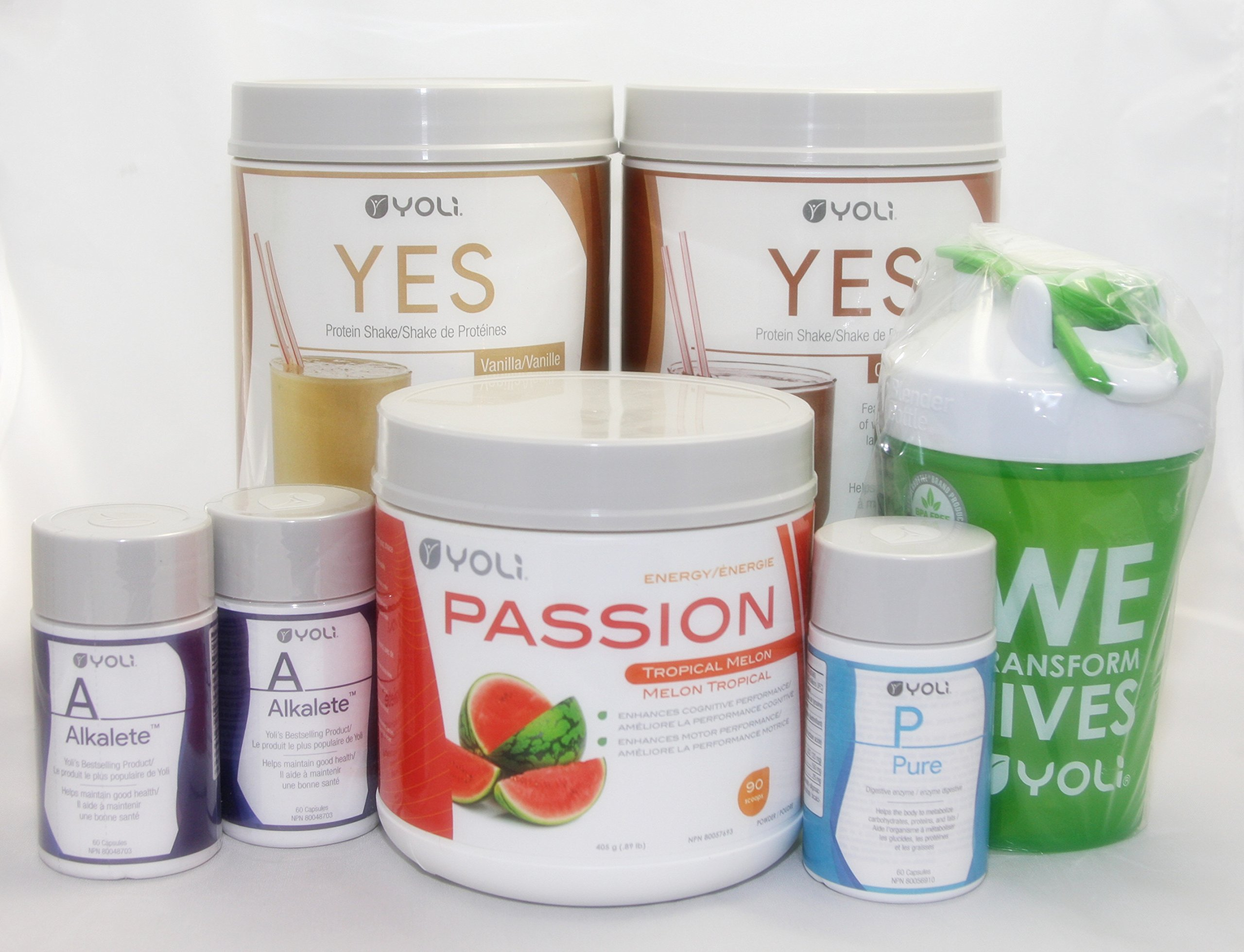 Yoli Better Body System - 30 Day Transformation Kit Weight Loss System - Passion Tropical Melon [CANADA]