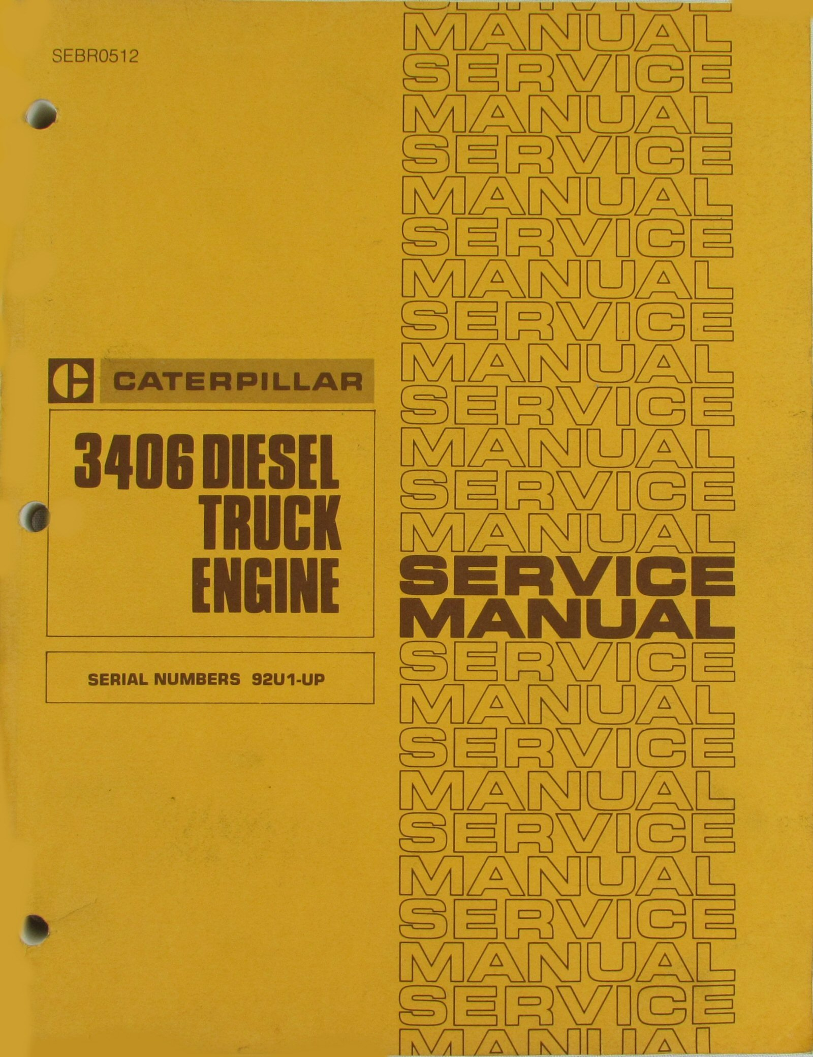 3406e caterpillar engine repair manual