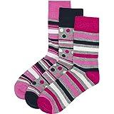 Ladies Non Elastic Loose Top Socks (6 or 12 Pair Multipack) Gentle Grip Diabetic Hosiery Size 4-8
