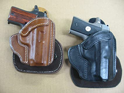 Amazon com : Azula All Leather Molded Paddle Holster CCW OWB