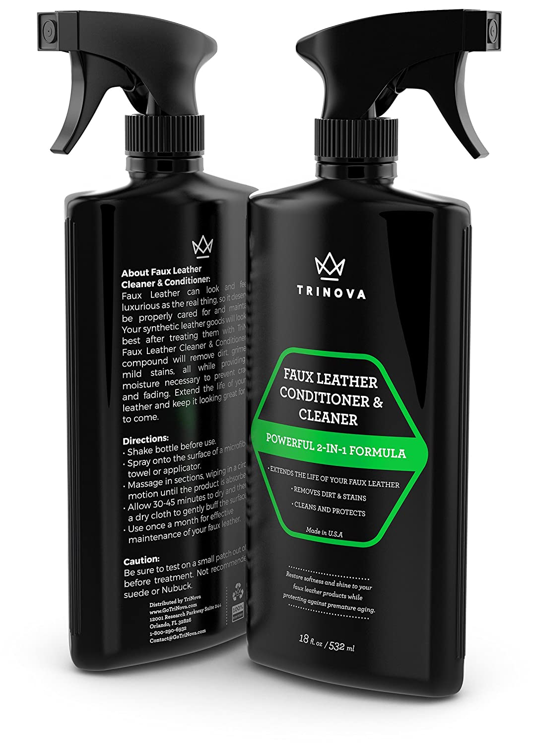 Amazon.com: Vinyl and Faux Leather Cleaner & Conditioner – Keep ...