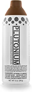 product image for PLUTONIUM Paint Ultra Supreme Professional Aerosol Paint, 12-Ounce, Earth Brown Translucent