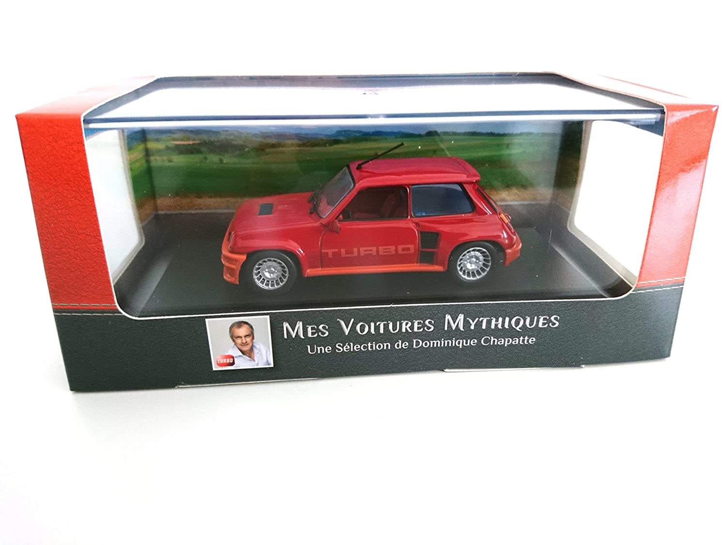 G/én/érique Renault 5 Turbo 1981 1:43 R5 Dominique CHAPATTE Cars DIECAST Metal