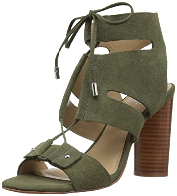 19d423e6c9 Amazon.com: The Fix Women's Page Block Heel Ghillie Dress Sandal: Shoes