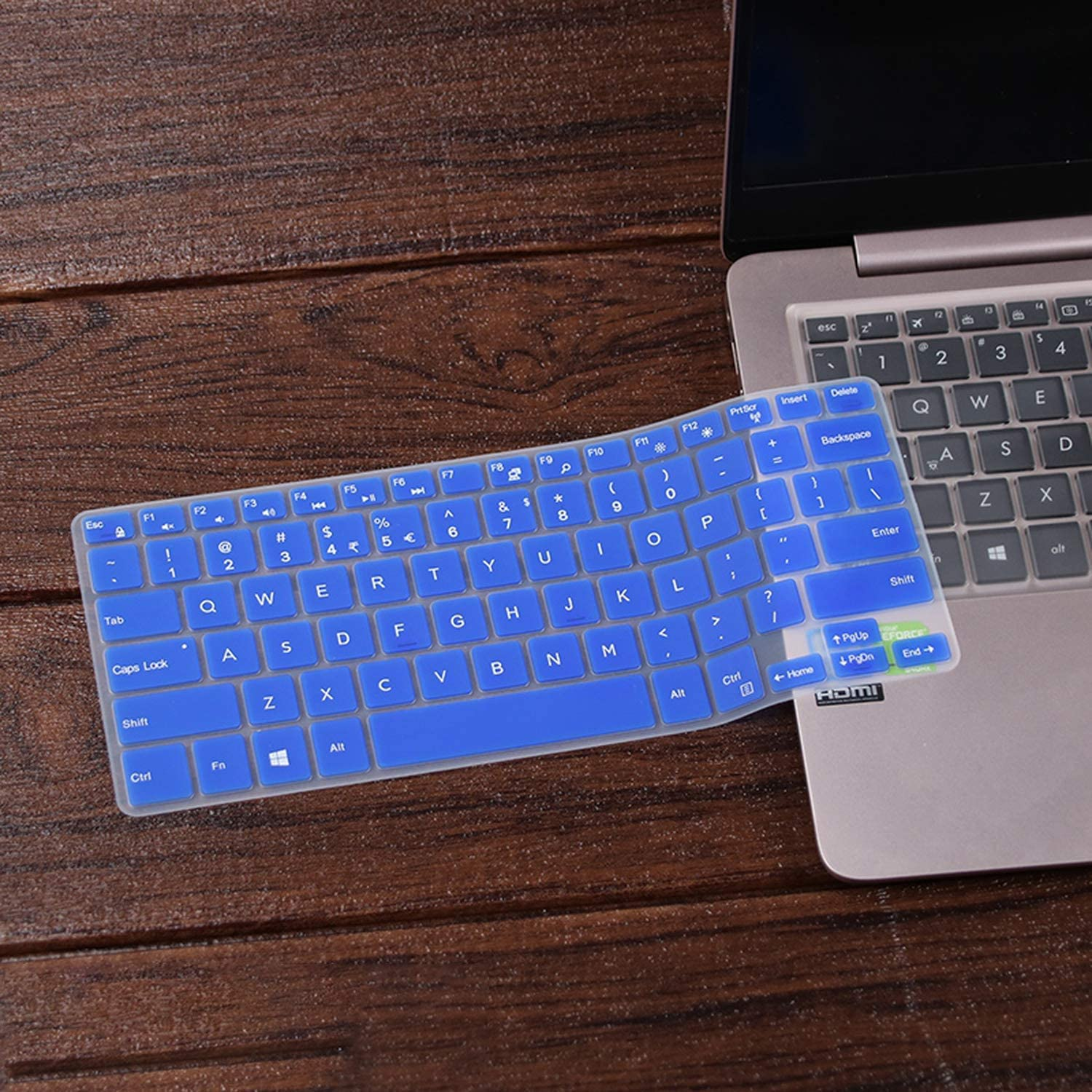 2020 11.6 Inch Silicone Keyboard Film Cover Skin Protector for Dell Inspiron 11 3162 11 3168 11 3169 3162 3168 3169 11 Inch-Clear