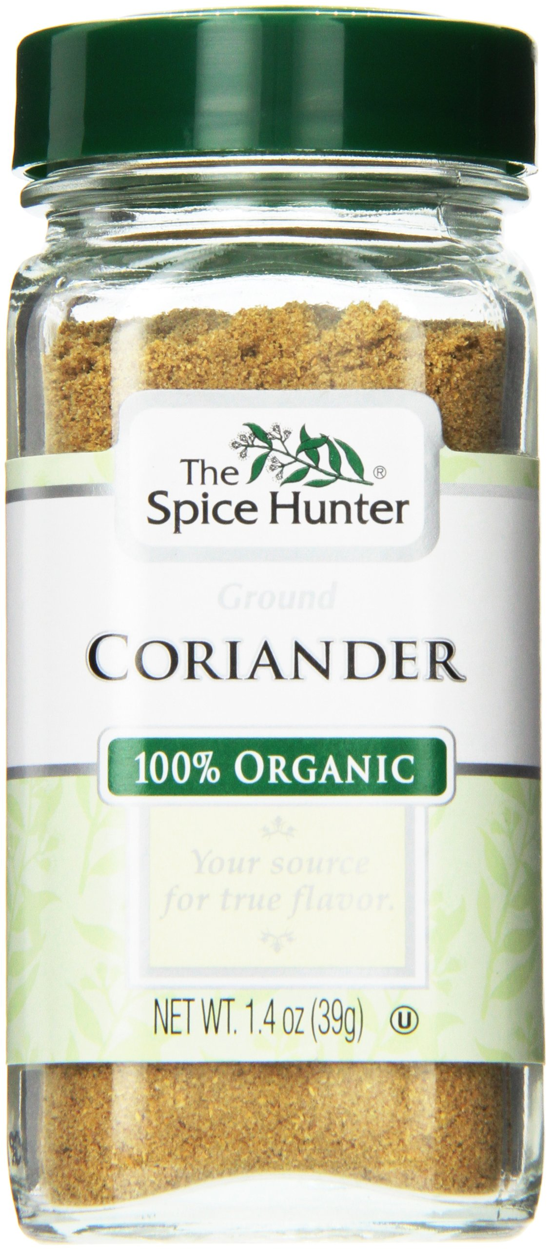 The Spice Hunter Coriander, Ground, Organic, 1.4 Ounce Jar (Pack of 48)