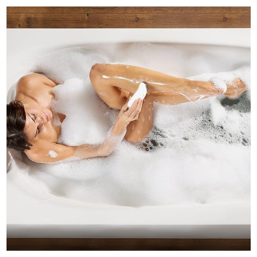 Epilieren in der Badewanne getestet