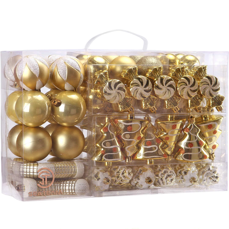 "Rose Gold Ariana Grande Inspired Christmas Ornament Plastic Shatterproof 4/"""