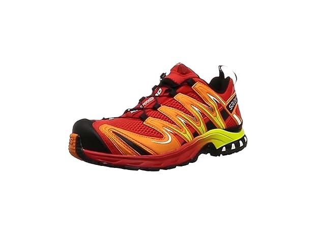 Salomon L39071700, Zapatillas de Trail Running para Hombre, Rojo (Radiant Red/Orange Rust/Black), 42 2/3 EU: Amazon.es: Zapatos y complementos