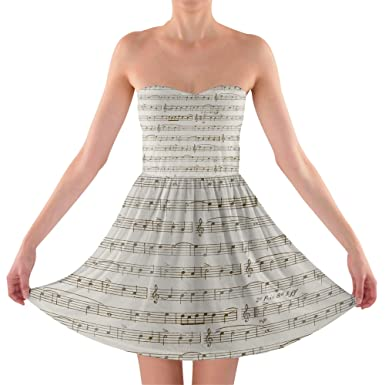 Music Sweetheart Dress