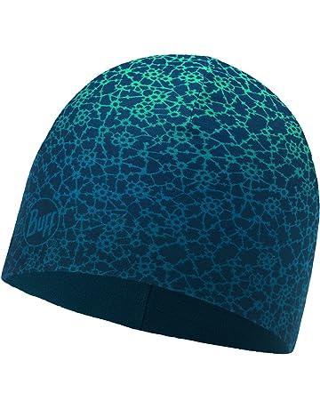 protezione solare da corsa con teschio Berretto multifunzione leggero da 9 cm Nero+Grigio medio Melange casco foderato per dormire, Confezione da 2 EMPIRELION