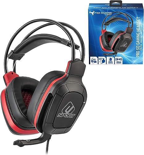 Subsonic - Auriculares para jugador con micrófono, Pro Gaming 50 ...