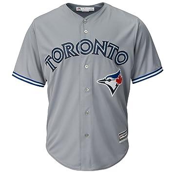 buy popular 700a5 e8031 Toronto Blue Jays Replica Cool Base Road Jersey