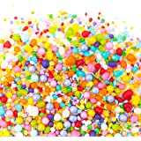 Sweets Indeed Candy Sprinkles | Unicorn Candyfetti | 8oz Jar | Rainbow Fruity | MADE IN THE USA! | Edible Confetti