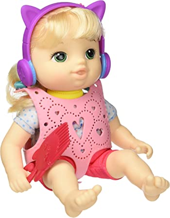 Baby Alive BA LTLS Carry N GO Girl BLD CRL Hair
