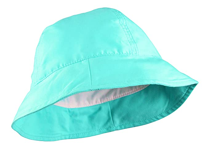 da729a44ff497 Amazon.com  Baby Classic Bucket Hat Turquoise Blue  Clothing