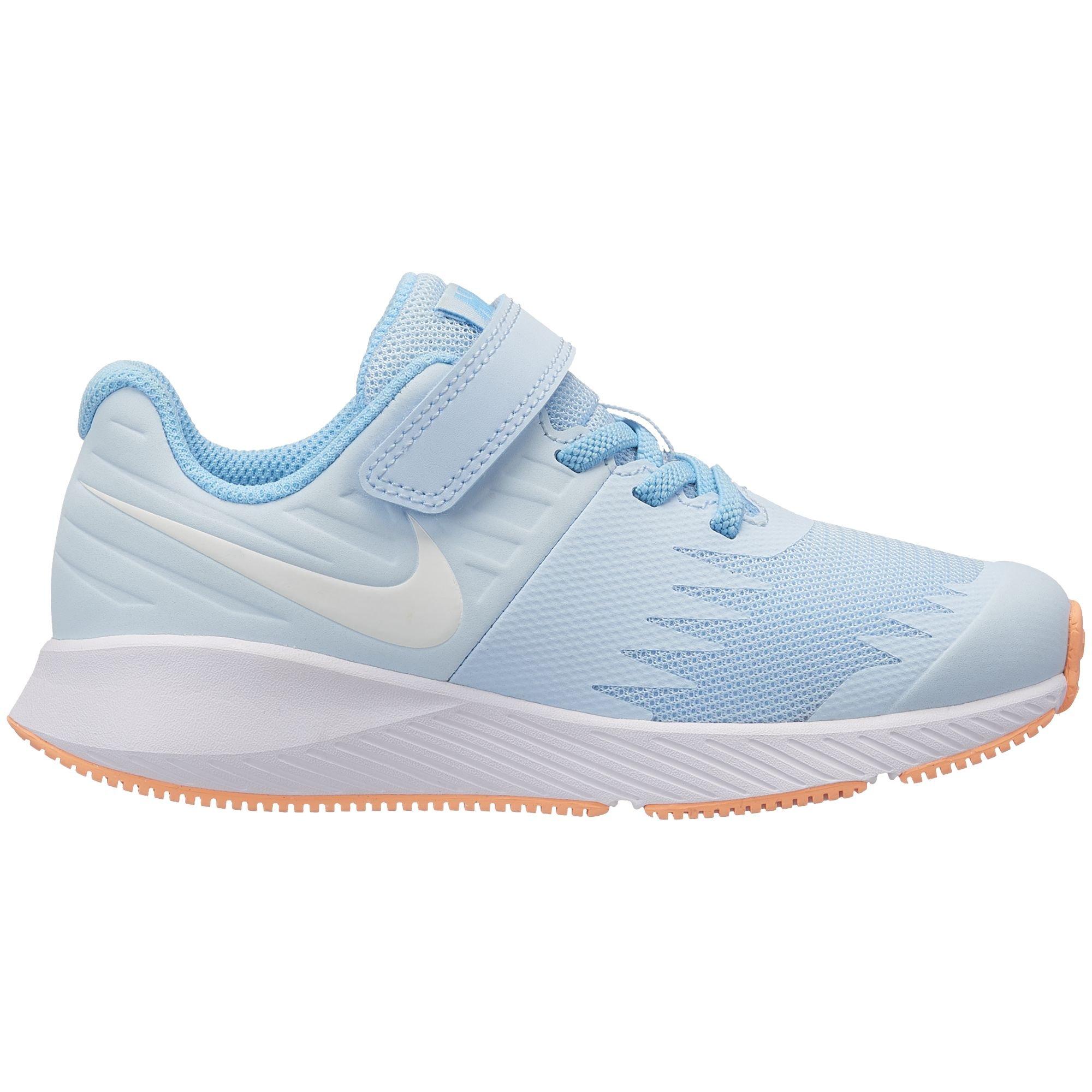 Nike Girl's Star Runner (PSV) Pre-School Shoe Cobalt Tint/White/Blue Chill Size 1 M US by Nike (Image #1)