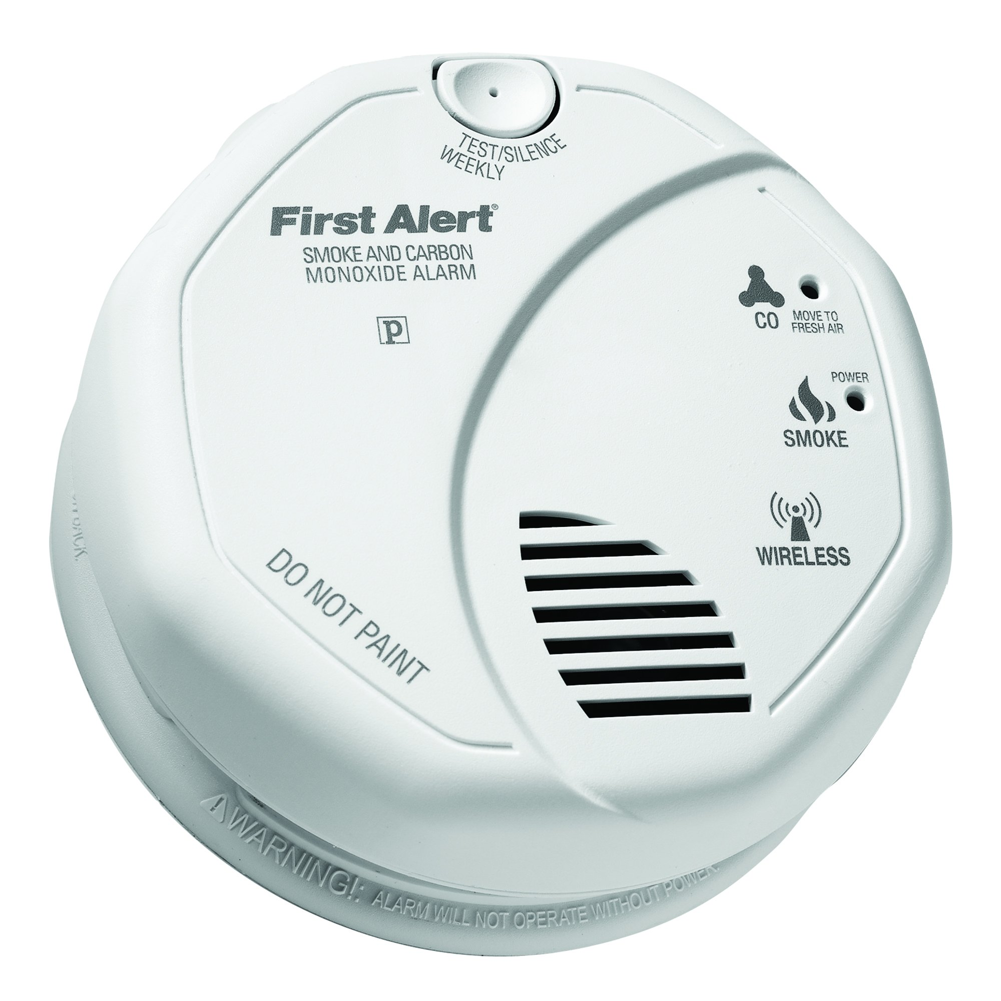First Alert 2-in-1 Z-Wave Smoke Detector & Carbon Monoxide Alarm