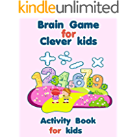 Great for developing your son's skills - Activity Book For Kids Ages 4-8: brain games activity book - Mazes and Word…