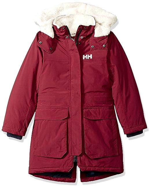hyvä laatu saada verkkoon uusi kokoelma Amazon.com: Helly Hansen Jr Vilde Parka: Clothing