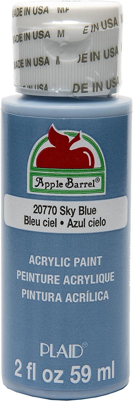 Apple Barrel Acrylic Paint in Assorted Colors (2 Ounce), 20770 Sky Blue