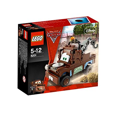 Cars 2 Radiator Springs Classic Mater (Lego 8201): Toys & Games