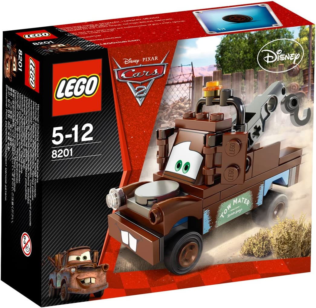 Amazon Com Cars 2 Radiator Springs Classic Mater Lego 8201 Toys Games