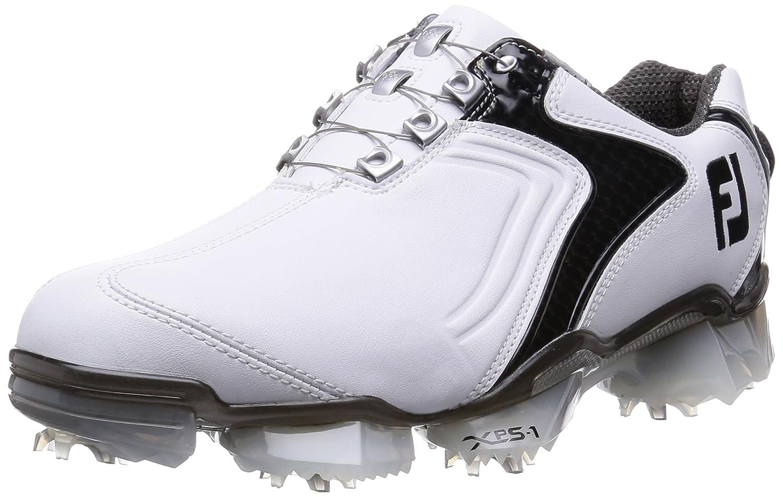 [フットジョイ] FootJoy ゴルフシューズ XPS-1Boa B013ODQH4W 25.5 cm Wide ホワイト/ブラック2015モデル