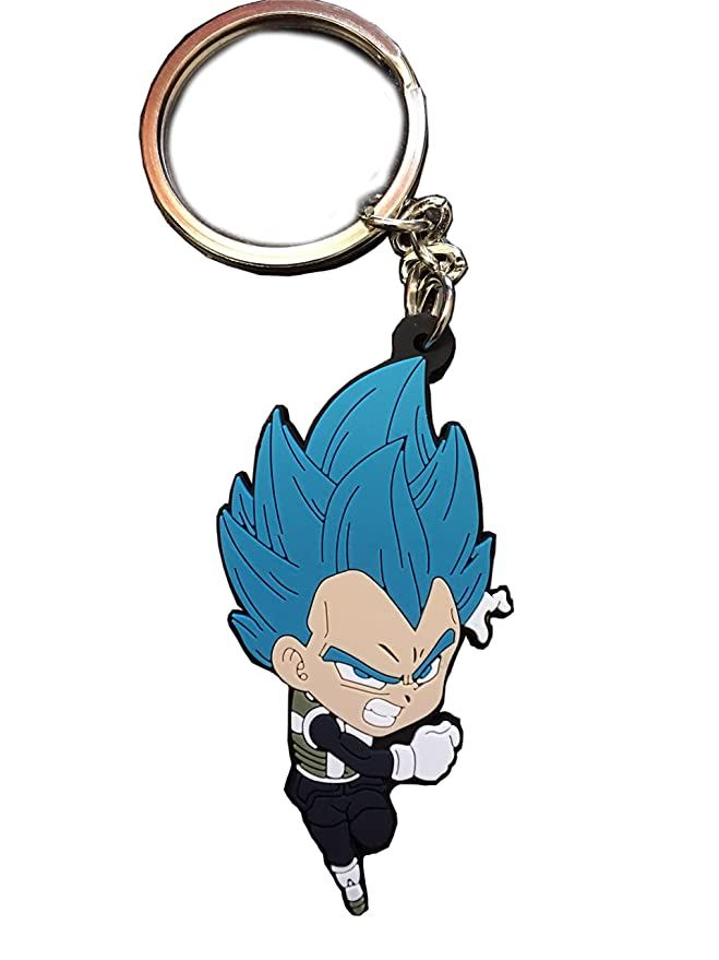 Amazon.com: Dragon Ball Super Key cadena Vegeta Super Saiyan ...