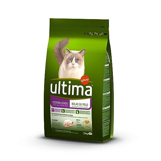 Ultima Cat esterilizados control bolas pel0 1.5 kg: Amazon.es: Alimentación y bebidas