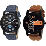 Hariom Fashion Analogue Multi-Colour Dial Boy's Watch-Pack Of 2