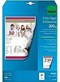 Sigel IP681 - Papel InkJet, 200 g, 25 hojas, A4