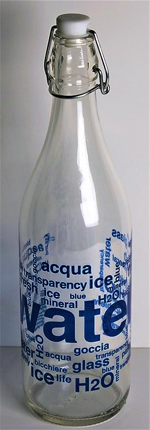 Arvindgroup Botella de vidrio para bebidas TP 420: Amazon.es: Hogar