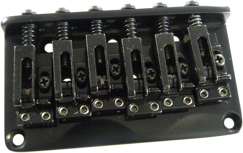Gotoh GTC 12-B 12 cuerdas de la guitarra de Hardtail puente fijo - Negro