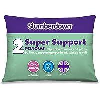 Slumberdown Super Support Pillow, White