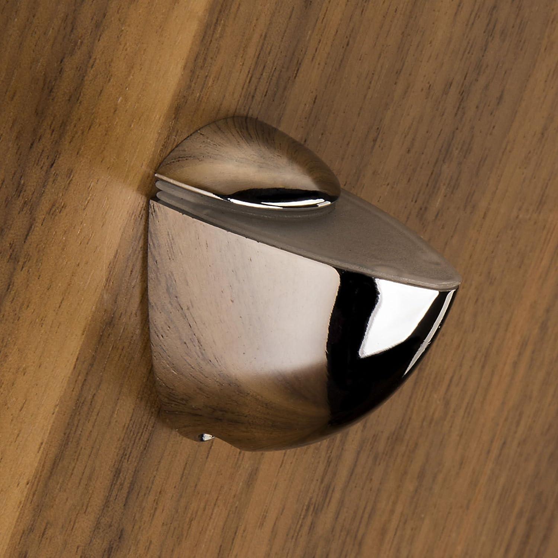 SO-TECH® Soporte para estantería de cristal PELIKAN (mini) cromo pulido: Amazon.es: Bricolaje y herramientas