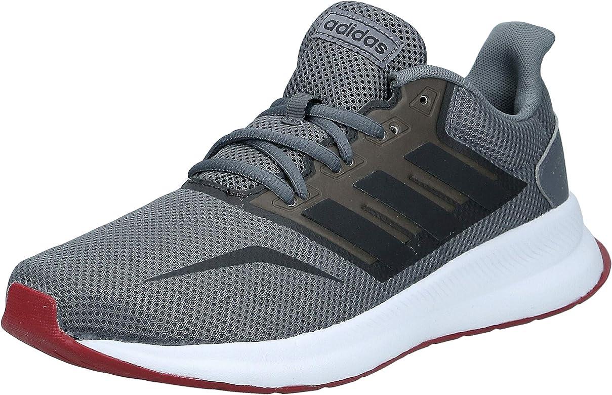 adidas Runfalcon, Zapatillas de Running para Hombre, Multicolor (Grey Five/Core Black/FTWR White Ee8153), 40 2/3 EU: Amazon.es: Zapatos y complementos