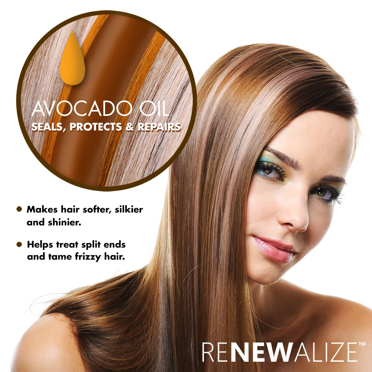 avocado oil for dry hair